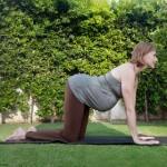 Bài tập yoga giúp bà bầu dễ sinh